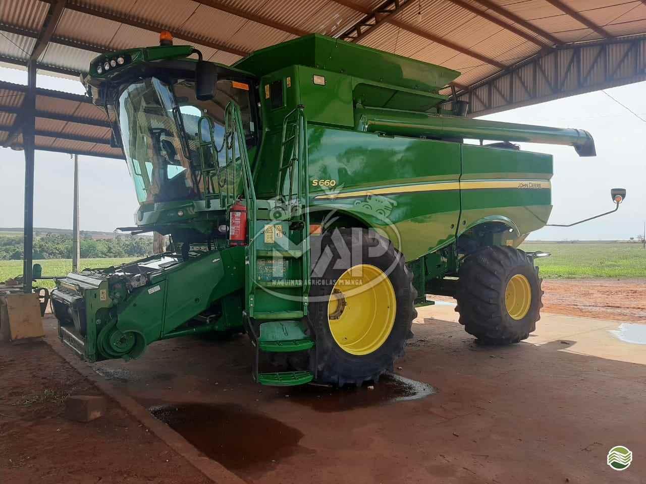COLHEITADEIRA JOHN DEERE JOHN DEERE S660 Máquinas Agrícolas Pitanga PITANGA PARANÁ PR