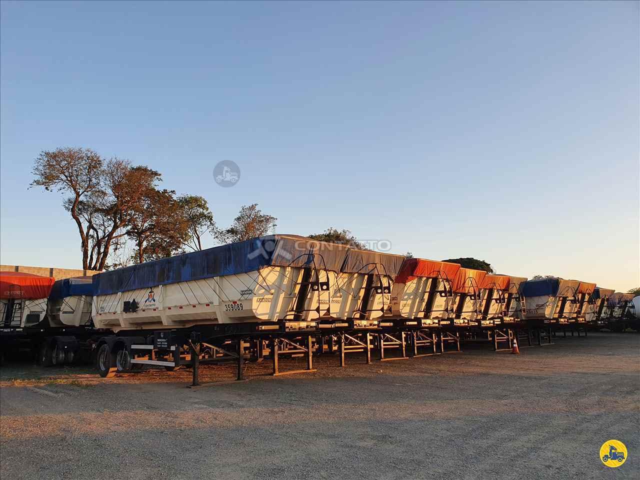 SEMI-REBOQUE BASCULANTE  2017/2018 Transportadora Contatto Ltda
