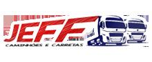 Logo JEFF Seminovos - Caminhões e Carretas
