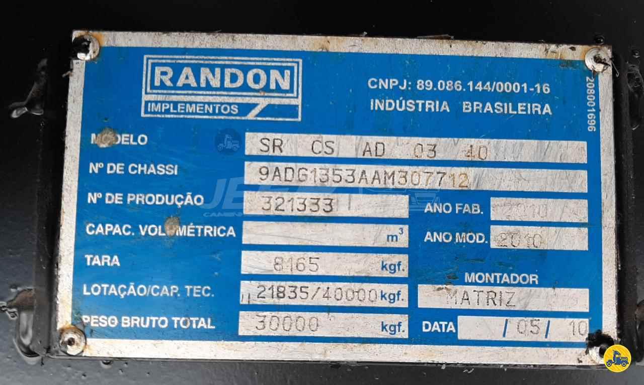 SEMI-REBOQUE CARGA SECA  2010/2010 JEFF Seminovos - Caminhões e Carretas