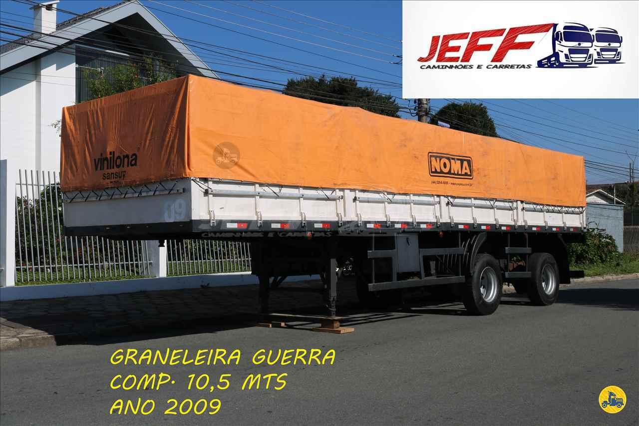 SEMI-REBOQUE GRANELEIRO  2009/2009 JEFF Seminovos - Caminhões e Carretas