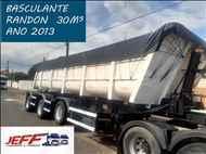 SEMI-REBOQUE BASCULANTE  2012/2013 JEFF Seminovos - Caminhões e Carretas
