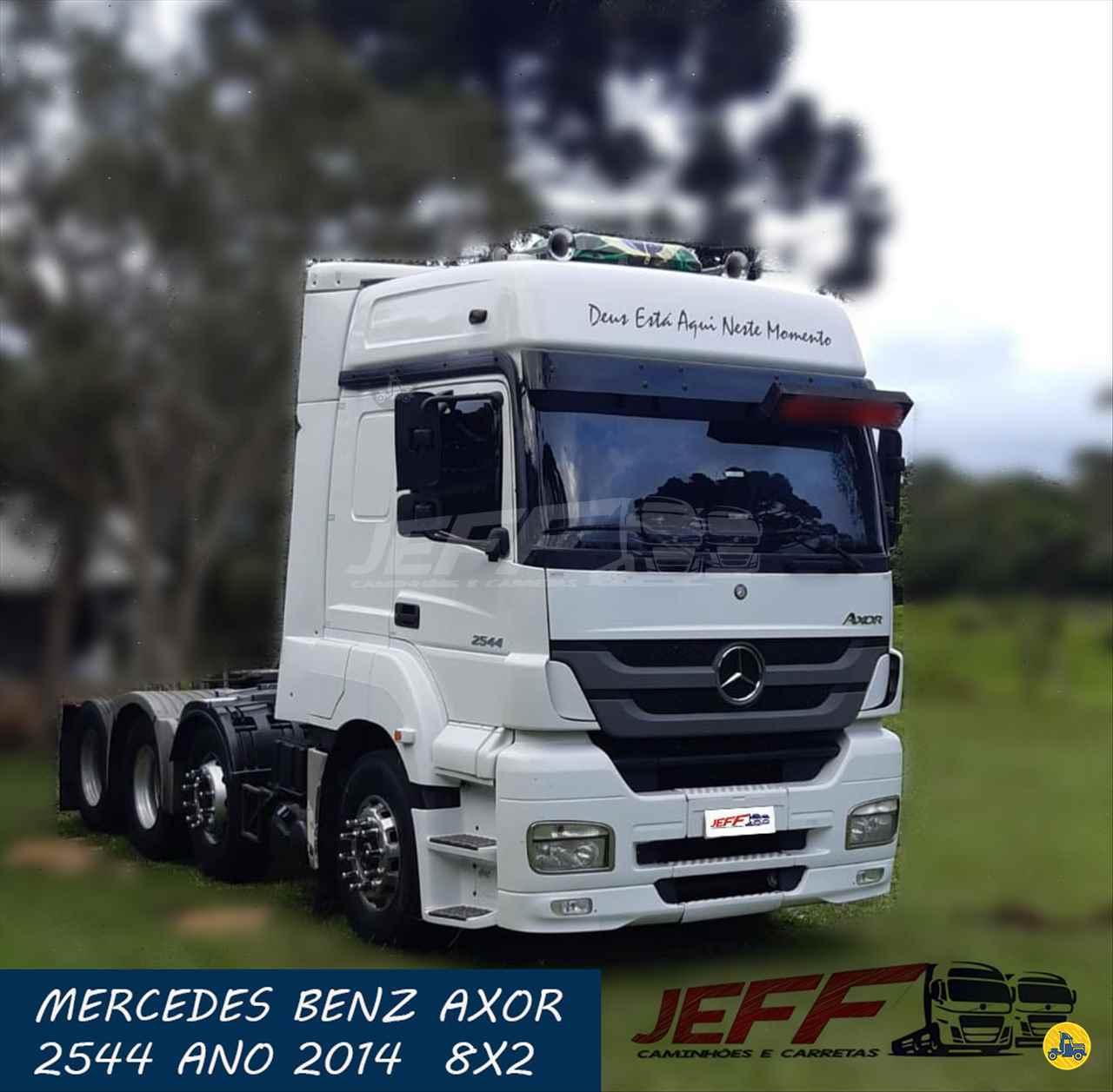 CAMINHAO MERCEDES-BENZ MB 2544 Chassis BiTruck 8x2 JEFF Seminovos - Caminhões e Carretas MANDIRITUBA PARANÁ PR