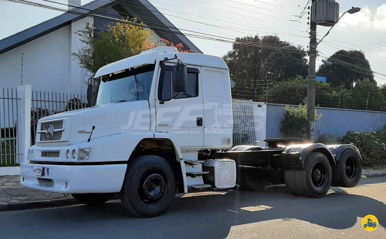 CAMINHAO MERCEDES-BENZ MB 1634 Chassis Truck 6x2 JEFF Seminovos - Caminhões e Carretas CURITIBA PARANÁ PR
