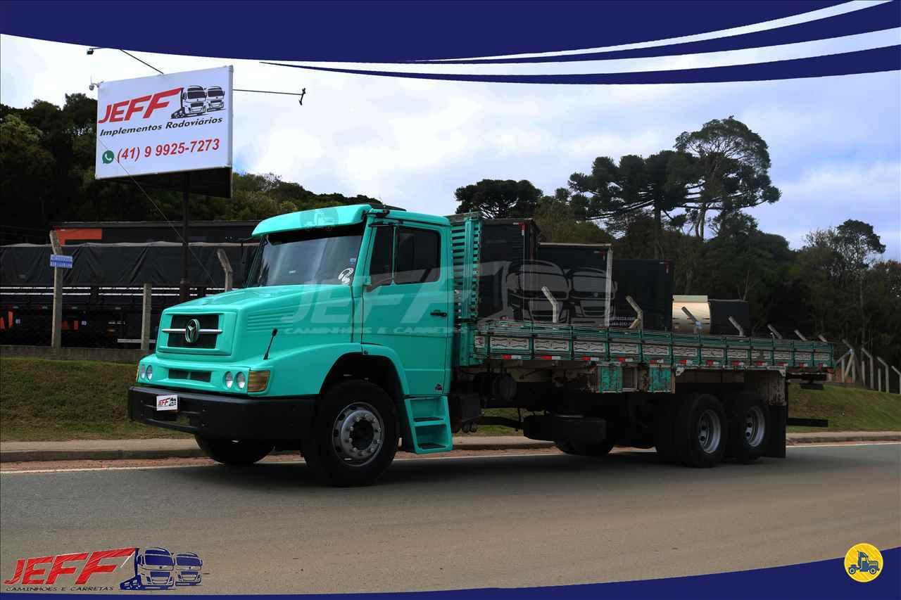 CAMINHAO MERCEDES-BENZ MB 1618 Carroceria Cabine Suplementar 3/4 6x2 JEFF Seminovos - Caminhões e Carretas MANDIRITUBA PARANÁ PR