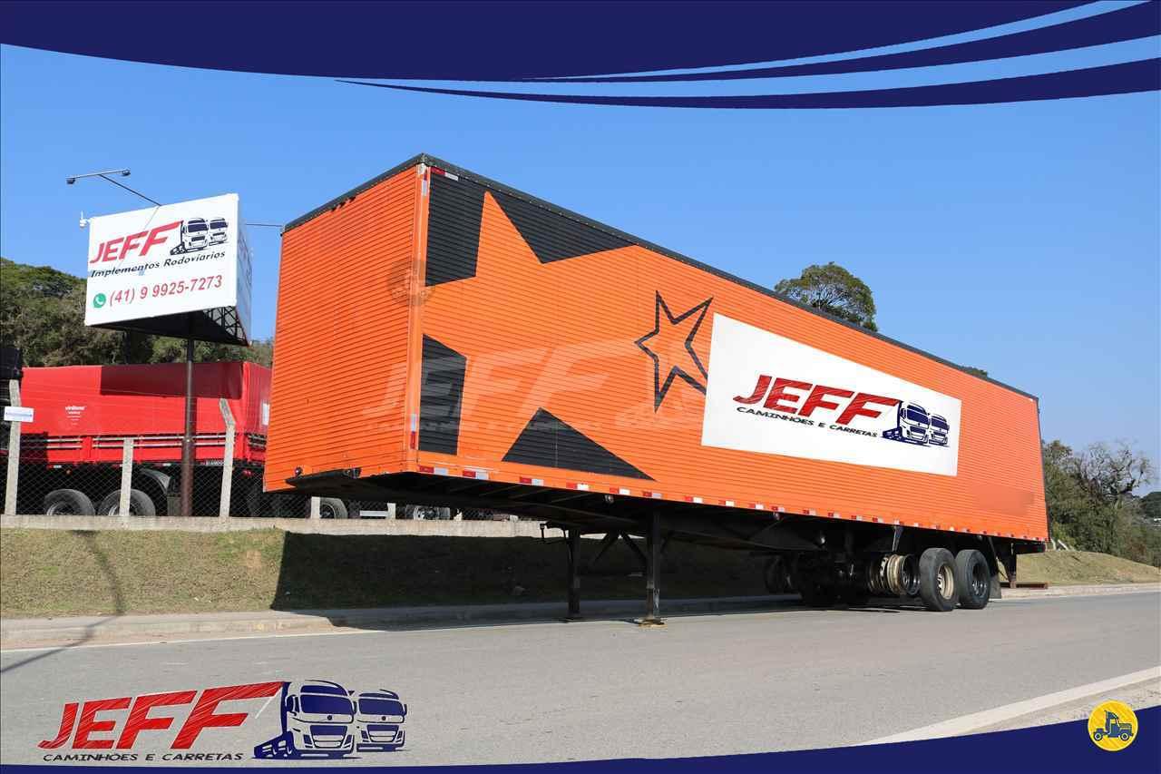 CARRETA SEMI-REBOQUE BAU FURGÃO JEFF Seminovos - Caminhões e Carretas MANDIRITUBA PARANÁ PR