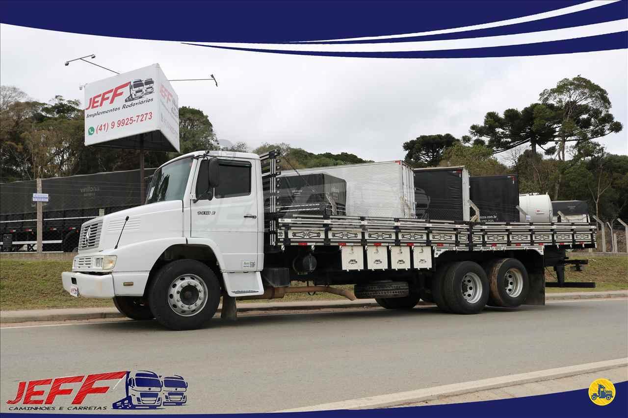 CAMINHAO MERCEDES-BENZ MB 1418 Carga Seca Truck 6x2 JEFF Seminovos - Caminhões e Carretas MANDIRITUBA PARANÁ PR