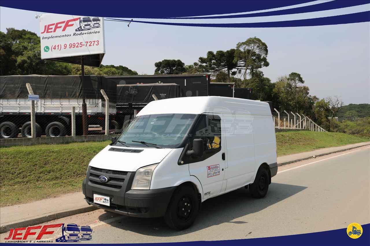 VANS FORD Transit Van 2.4 JEFF Seminovos - Caminhões e Carretas MANDIRITUBA PARANÁ PR