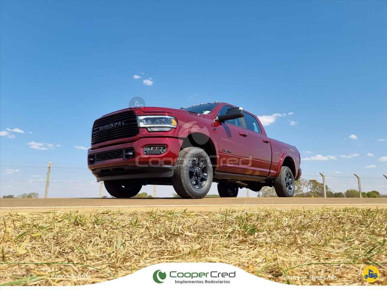 CARRO DODGE Ram 6.7 2500 Laramie Cooper Cred Implementos Rodoviários MG PATOS DE MINAS MINAS GERAIS MG