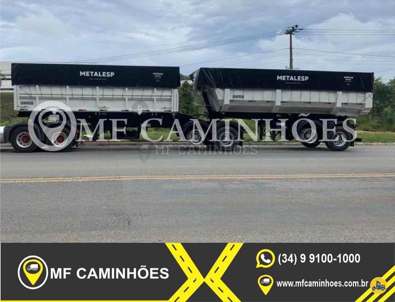 SEMI-REBOQUE BASCULANTE  2020/2021 MF Caminhões