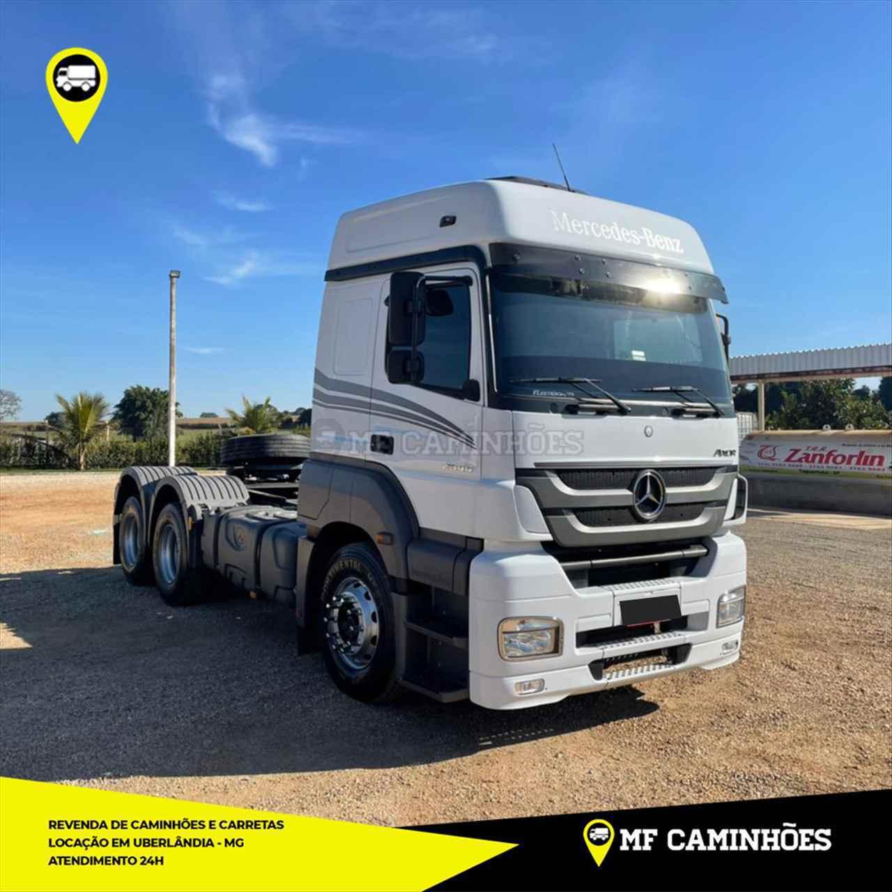 CAMINHAO MERCEDES-BENZ MB 2544 Cavalo Mecânico 3/4 6x2 MF Caminhões UBERLANDIA MINAS GERAIS MG