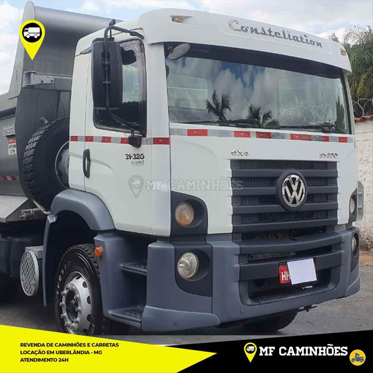 CAMINHAO VOLKSWAGEN VW 31320 Caçamba Basculante 3/4 6x2 MF Caminhões UBERLANDIA MINAS GERAIS MG