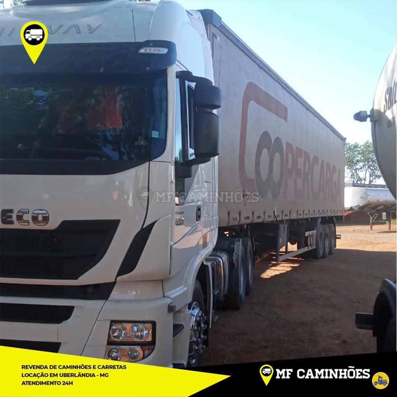 CAMINHAO IVECO STRALIS 480 Cavalo Mecânico Traçado 6x4 MF Caminhões UBERLANDIA MINAS GERAIS MG