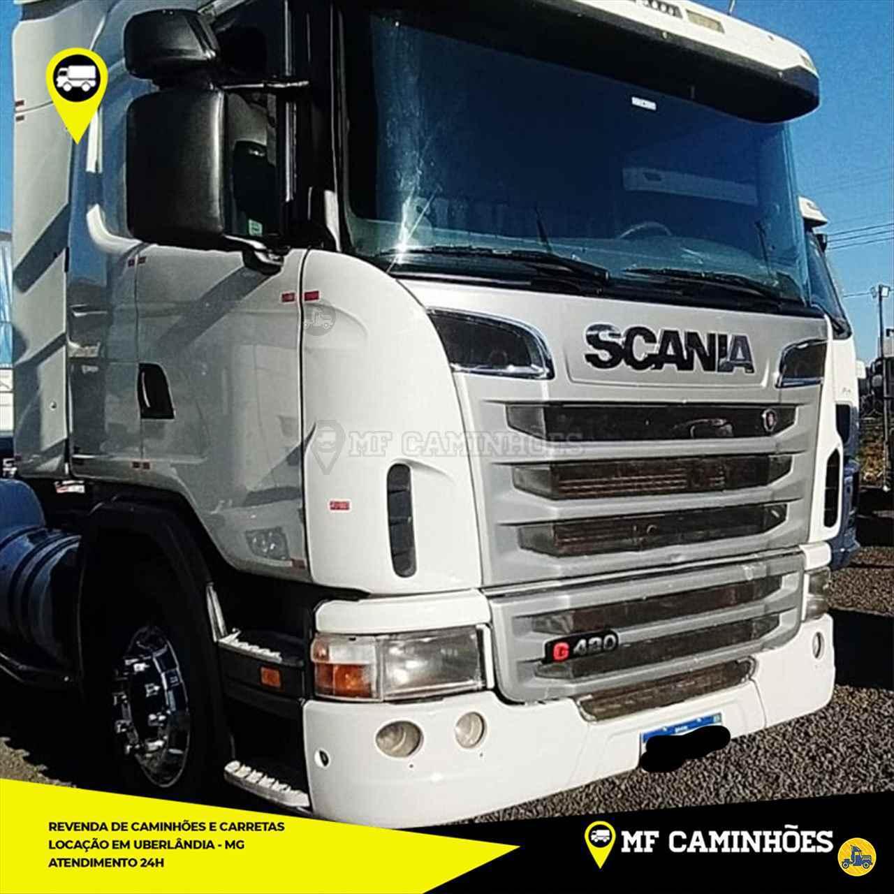 CAMINHAO SCANIA SCANIA 420 Cavalo Mecânico Truck 6x2 MF Caminhões UBERLANDIA MINAS GERAIS MG