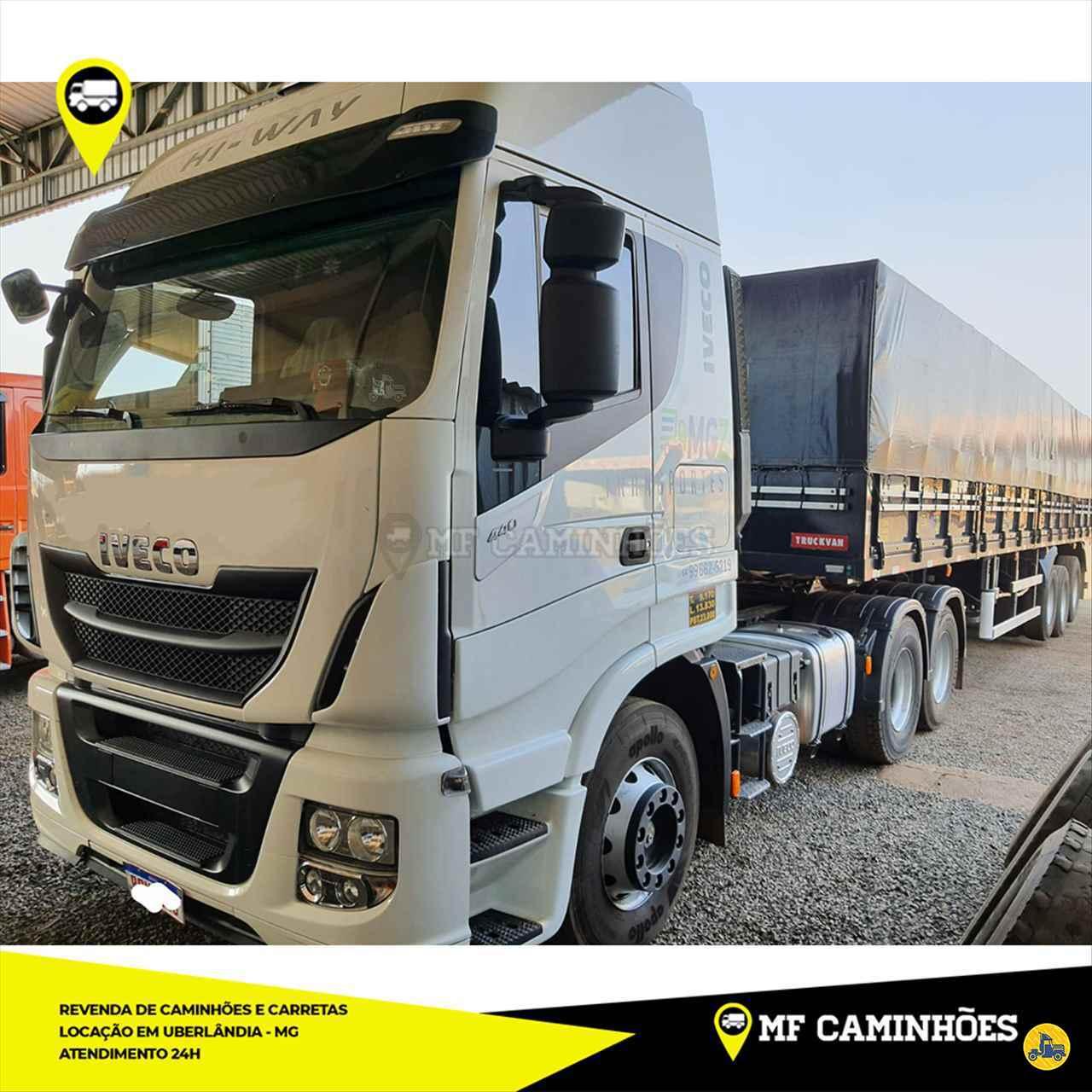 CAMINHAO IVECO STRALIS 440 Cavalo Mecânico Truck 6x2 MF Caminhões UBERLANDIA MINAS GERAIS MG