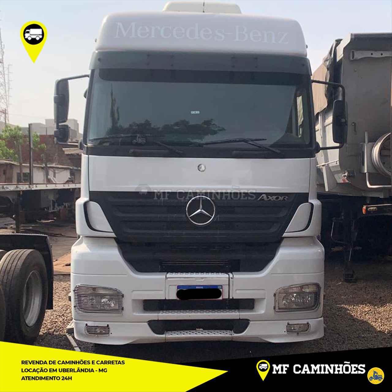 CAMINHAO MERCEDES-BENZ MB 2544 Cavalo Mecânico Truck 6x2 MF Caminhões UBERLANDIA MINAS GERAIS MG
