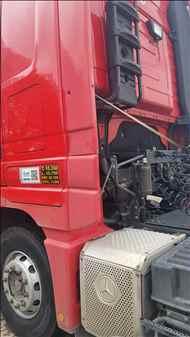 MERCEDES-BENZ MB 2651 190000km 2018/2018 APK Logística Transportes