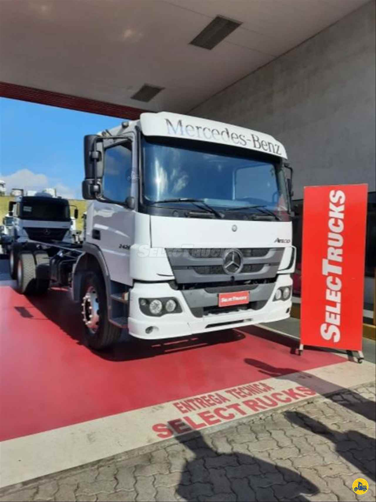 CAMINHAO MERCEDES-BENZ MB 2426 Chassis Truck 6x2 SelecTrucks - Mauá SP - Matriz  MAUA SÃO PAULO SP