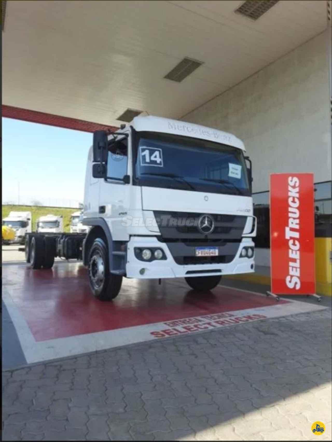 CAMINHAO MERCEDES-BENZ MB 2425 Chassis Truck 6x2 SelecTrucks - Mauá SP - Matriz  MAUA SÃO PAULO SP