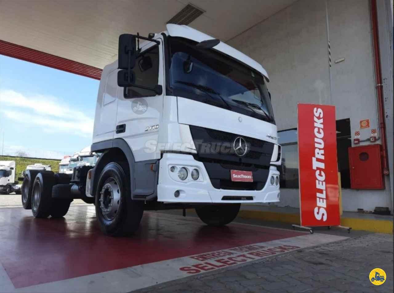 CAMINHAO MERCEDES-BENZ MB 2430 Chassis Truck 6x2 SelecTrucks - Mauá SP - Matriz  MAUA SÃO PAULO SP