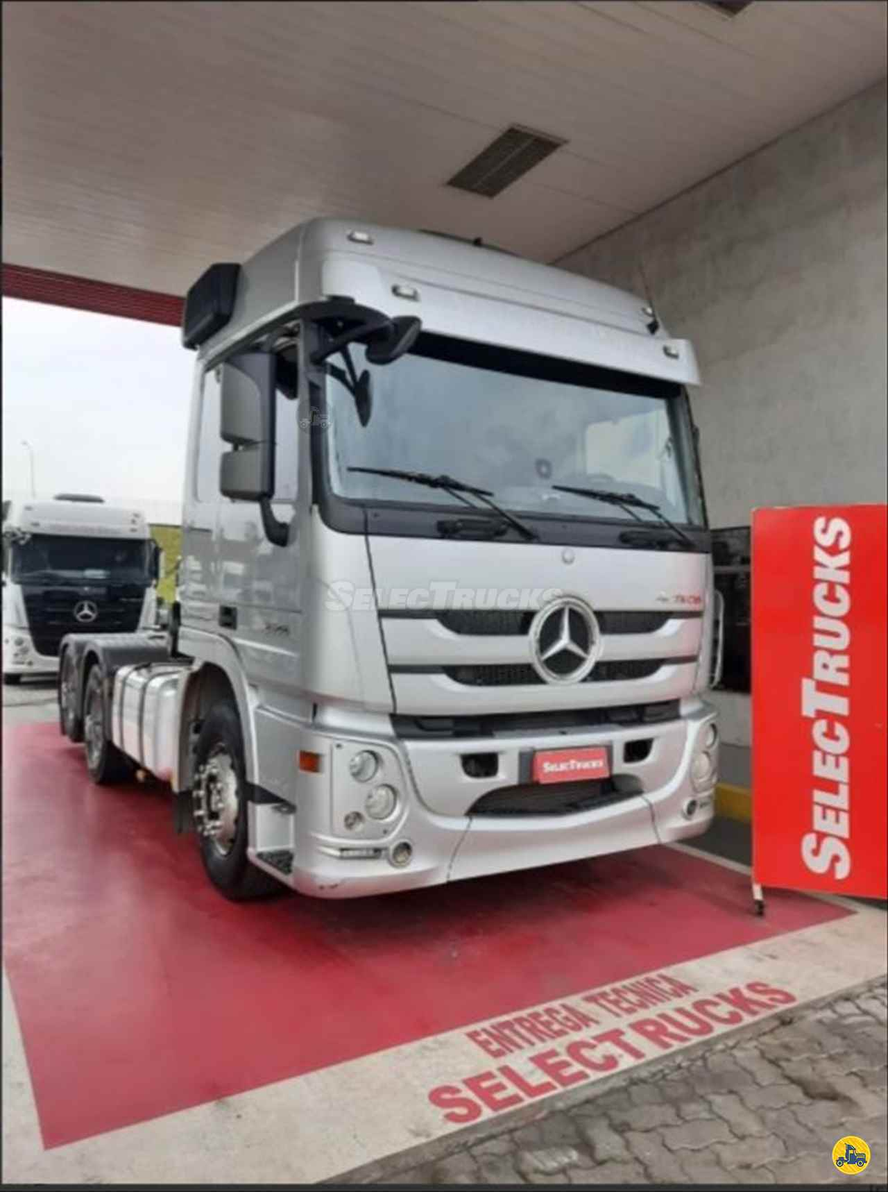 CAMINHAO MERCEDES-BENZ MB 2546 Cavalo Mecânico Truck 6x2 SelecTrucks - Mauá SP - Matriz  MAUA SÃO PAULO SP