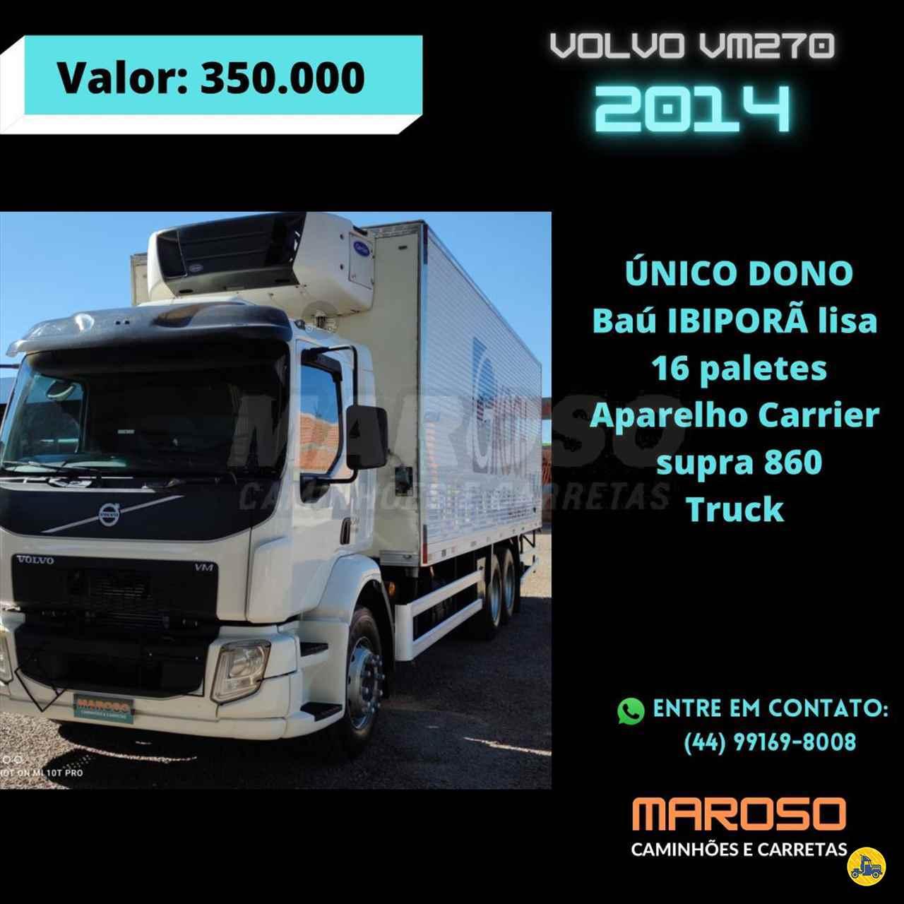 VOLVO VM 270 de Maroso Caminhões - PALOTINA/PR