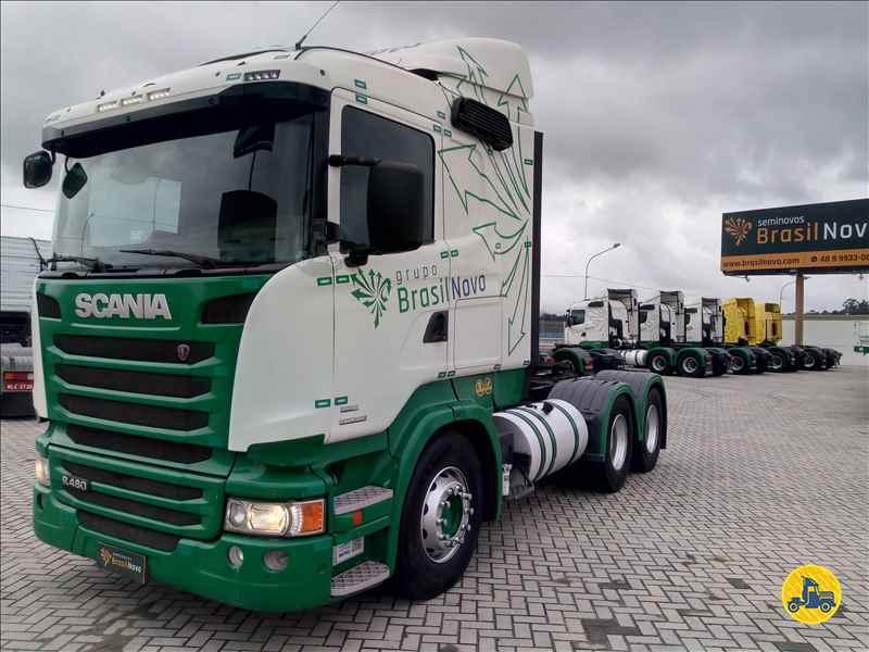 SCANIA SCANIA 480 655000km 2013/2013 Brasil Novo Seminovos