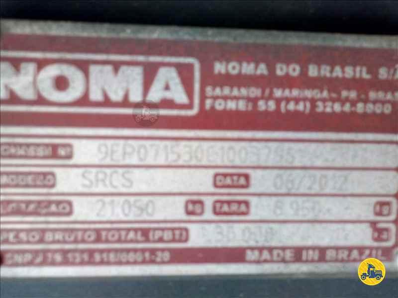 SEMI-REBOQUE CARGA SECA  2012/2012 Brasil Novo Seminovos