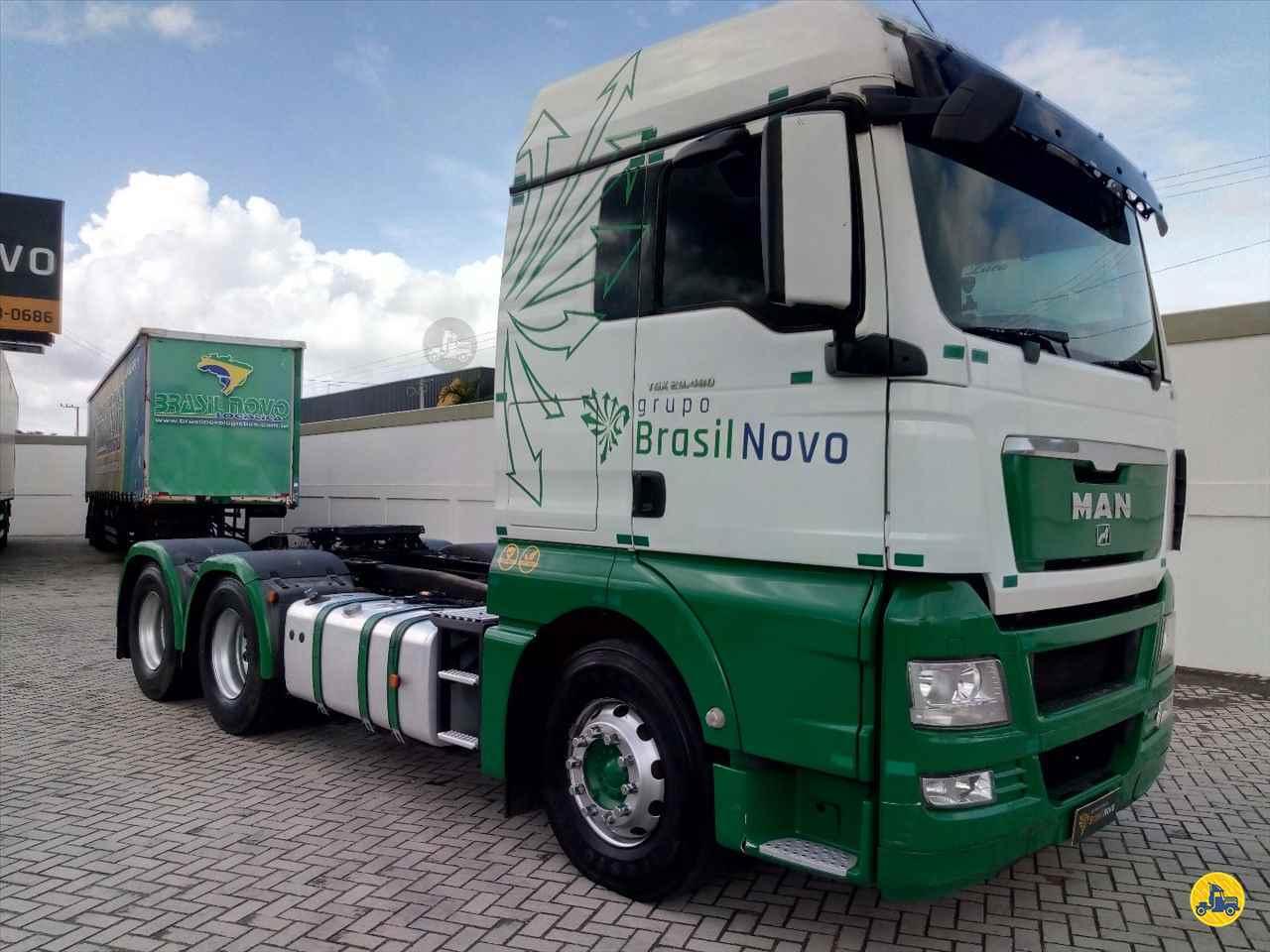 MAN TGX 29 480 360000km 2018/2018 Brasil Novo Seminovos