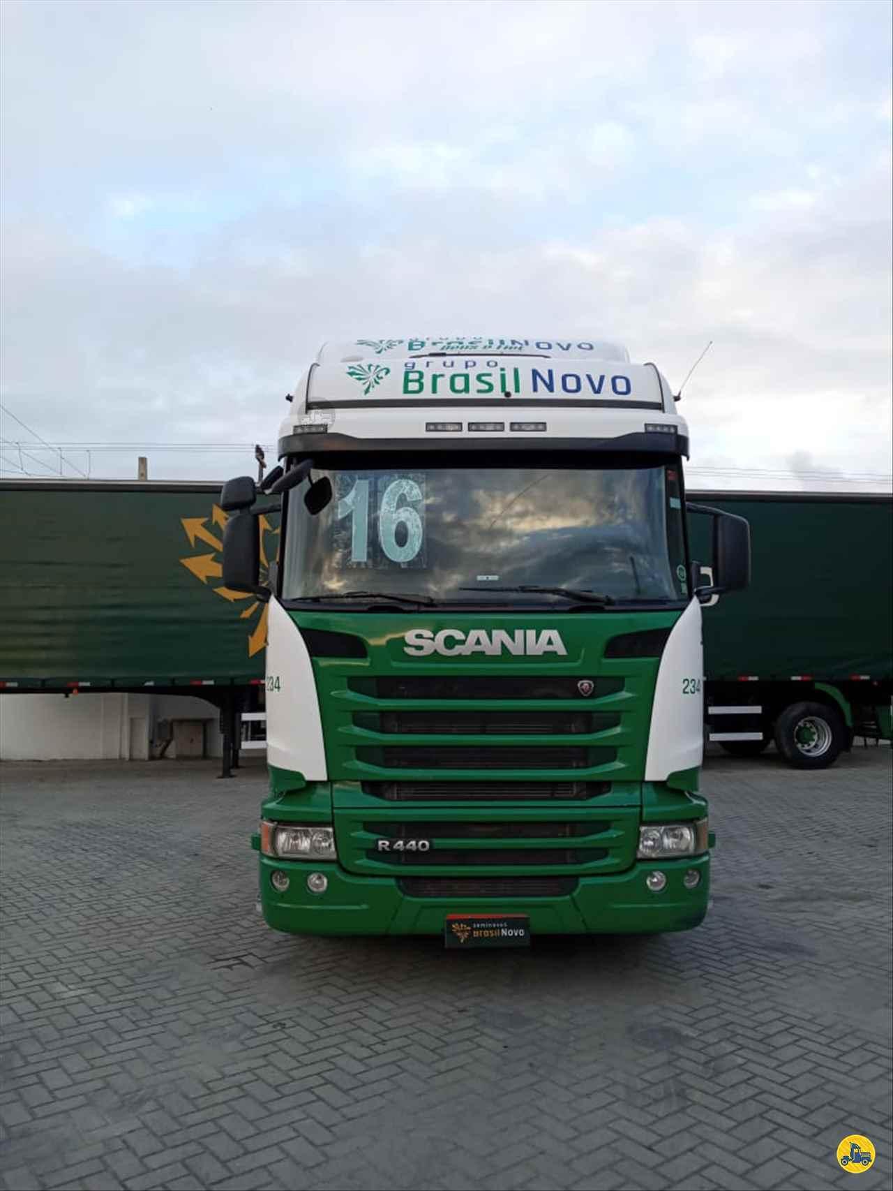 CAMINHAO SCANIA SCANIA 440 Cavalo Mecânico Truck 6x2 Brasil Novo Seminovos TIJUCAS SANTA CATARINA SC