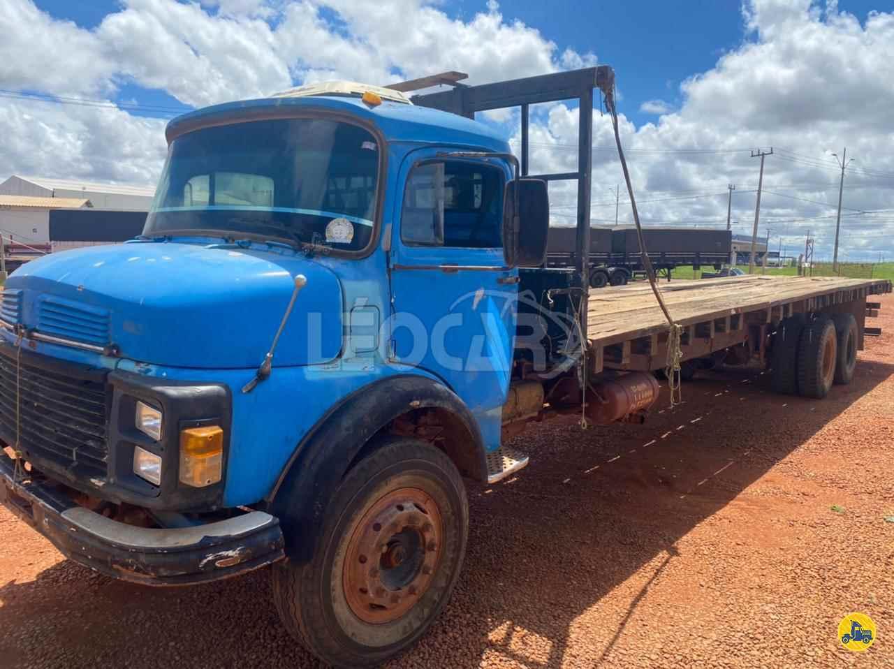 CAMINHAO MERCEDES-BENZ MB 1513 Carga Seca Truck 6x2 Leocar Caminhões PRIMAVERA DO LESTE MATO GROSSO MT