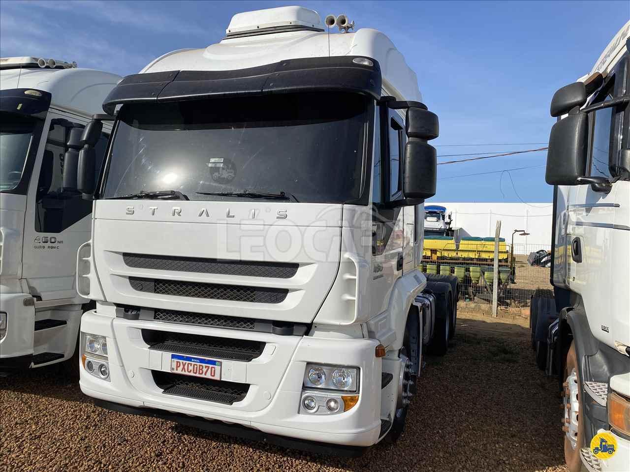 CAMINHAO IVECO STRALIS 480 Cavalo Mecânico Traçado 6x4 Leocar Caminhões PRIMAVERA DO LESTE MATO GROSSO MT