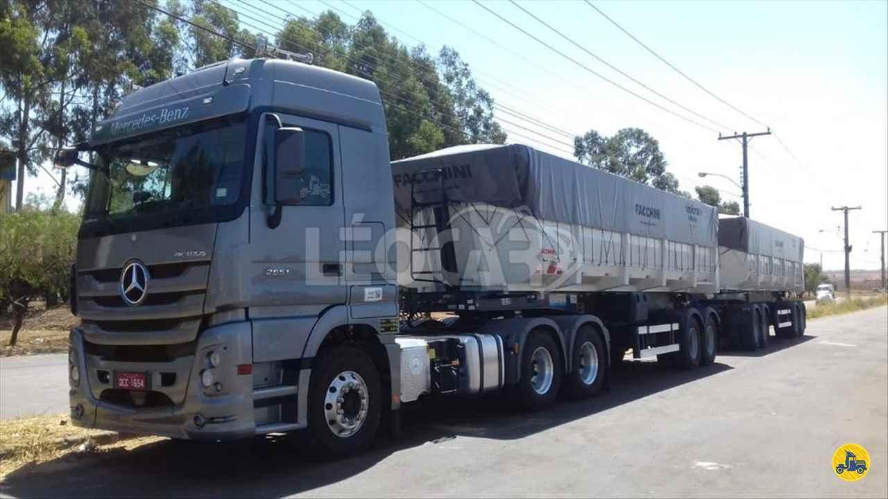 CAMINHAO MERCEDES-BENZ MB 2651 Caçamba Basculante Traçado 6x4 Leocar Caminhões PRIMAVERA DO LESTE MATO GROSSO MT