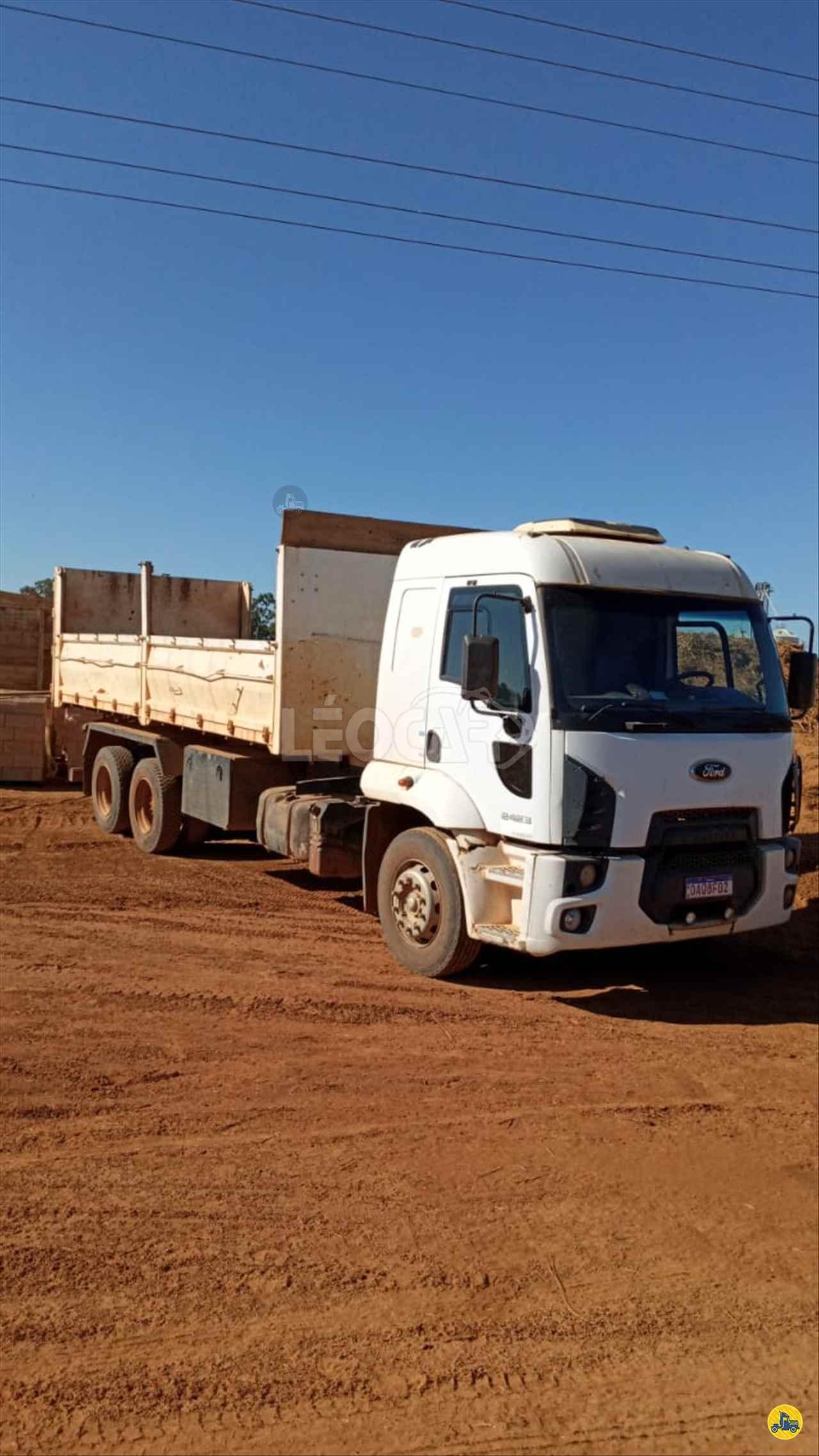 CAMINHAO FORD CARGO 2423 Caçamba Basculante Truck 6x2 Leocar Caminhões PRIMAVERA DO LESTE MATO GROSSO MT