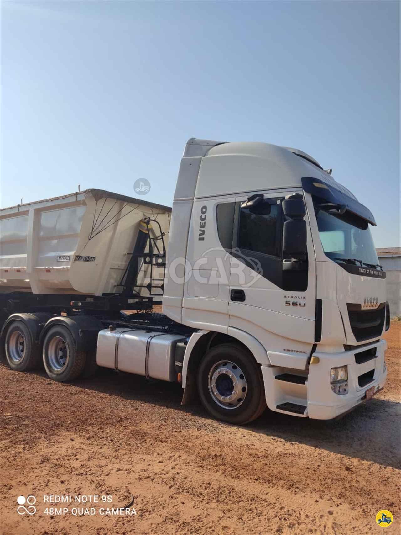 CAMINHAO IVECO STRALIS 480 Caçamba Basculante Traçado 6x4 Leocar Caminhões PRIMAVERA DO LESTE MATO GROSSO MT