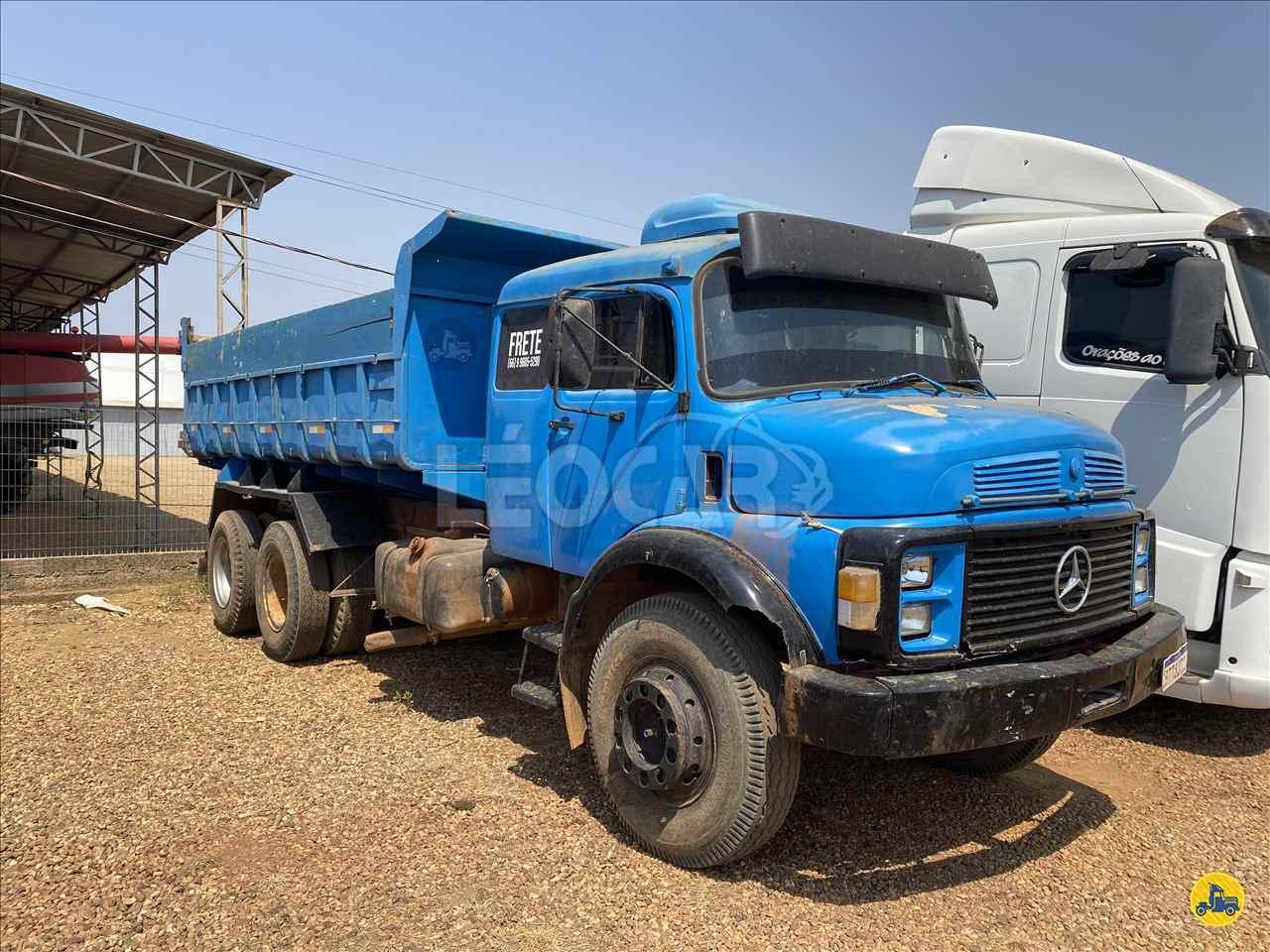 CAMINHAO MERCEDES-BENZ MB 2213 Caçamba Basculante Truck 6x2 Leocar Caminhões PRIMAVERA DO LESTE MATO GROSSO MT
