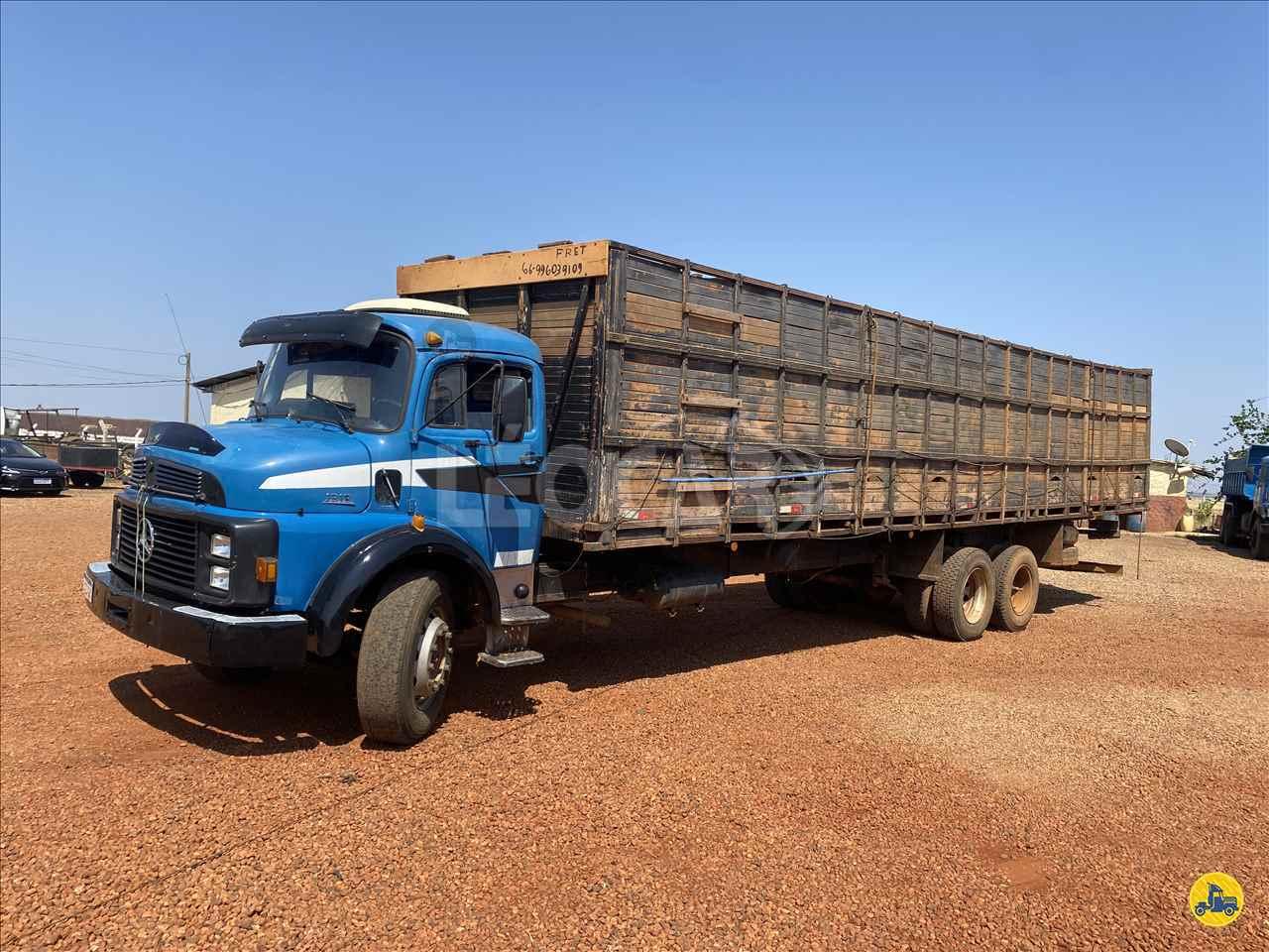 CAMINHAO MERCEDES-BENZ MB 1313 Boiadeiro Truck 6x2 Leocar Caminhões PRIMAVERA DO LESTE MATO GROSSO MT