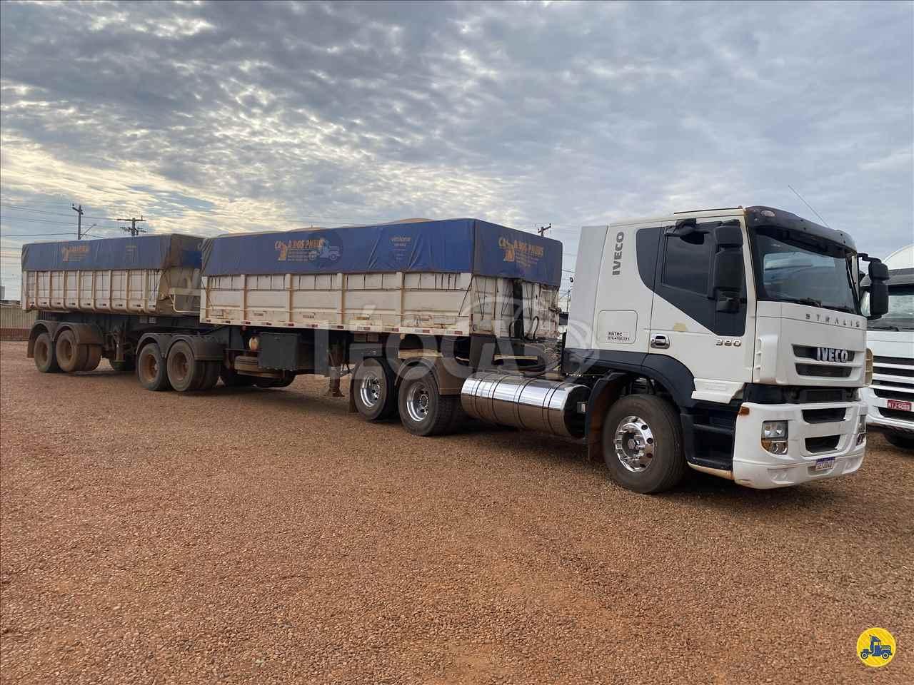 CAMINHAO IVECO STRALIS 380 Caçamba Basculante Truck 6x2 Leocar Caminhões PRIMAVERA DO LESTE MATO GROSSO MT