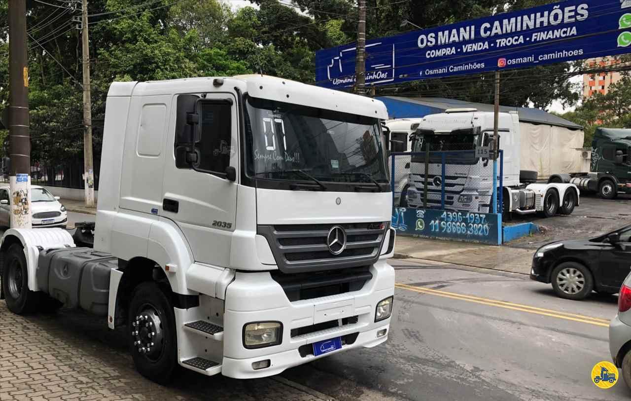 CAMINHAO MERCEDES-BENZ MB 2035 Cavalo Mecânico Toco 4x2 Osmani Caminhões SAO BERNARDO DO CAMPO SÃO PAULO SP