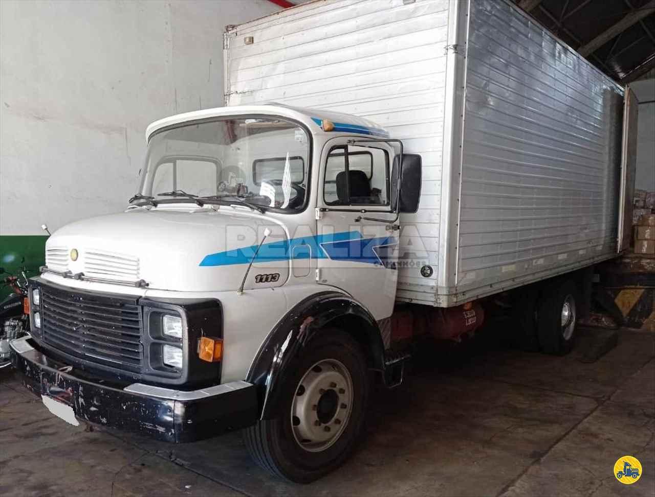 CAMINHAO MERCEDES-BENZ MB 1113 Baú Furgão Toco 4x2 Realiza Caminhões - Umuarama UMUARAMA PARANÁ PR