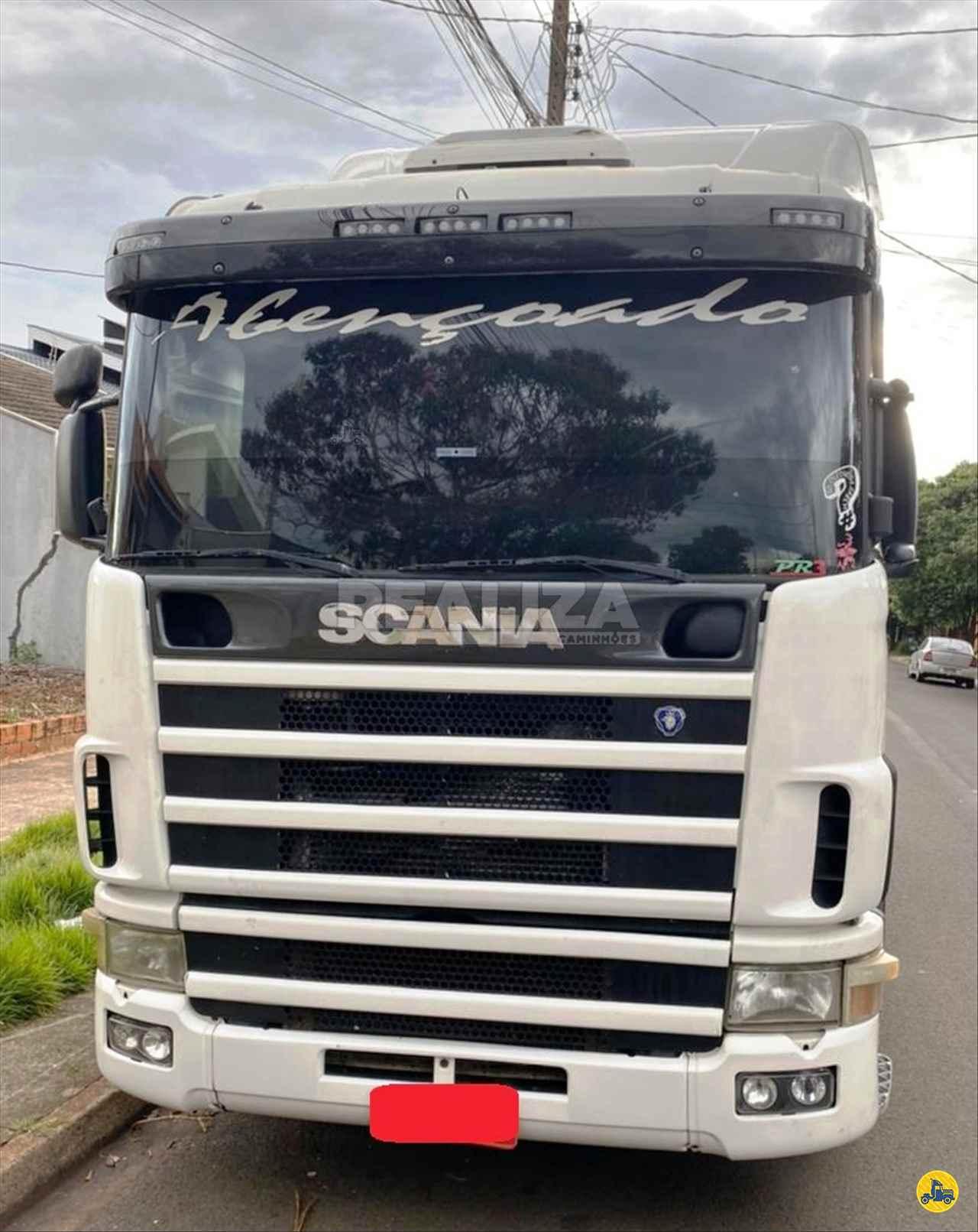 CAMINHAO SCANIA SCANIA 124 420 Cavalo Mecânico Truck 6x2 Realiza Caminhões - Umuarama UMUARAMA PARANÁ PR
