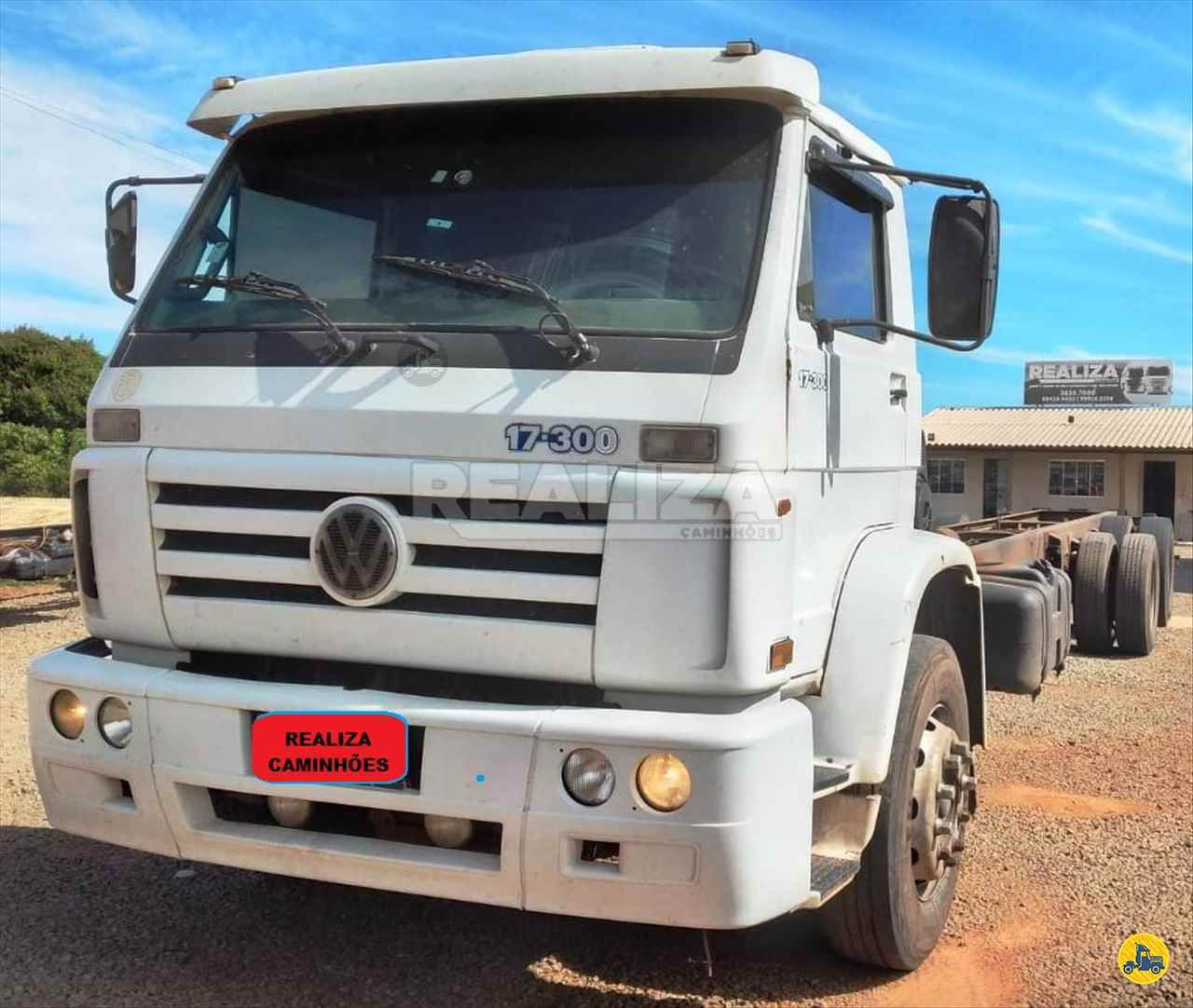 CAMINHAO VOLKSWAGEN VW 17300 Chassis Truck 6x2 Realiza Caminhões - Umuarama UMUARAMA PARANÁ PR