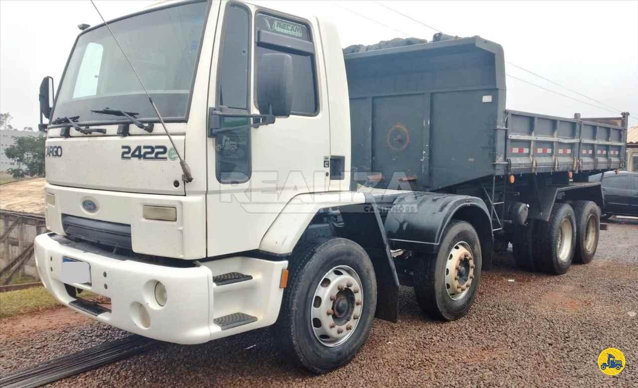 CAMINHAO FORD CARGO 2422 Caçamba Basculante BiTruck 8x2 Realiza Caminhões - Umuarama UMUARAMA PARANÁ PR