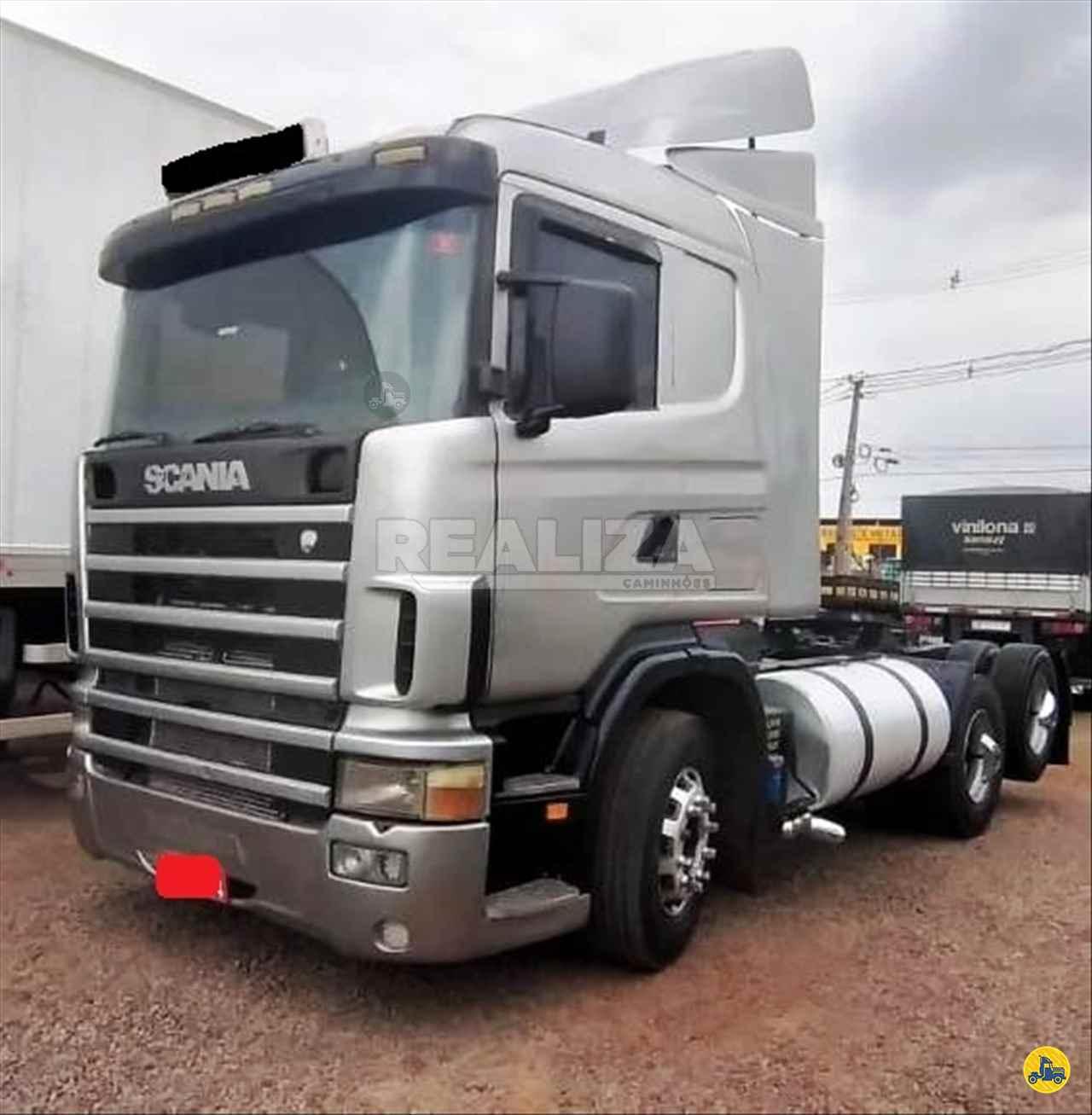 CAMINHAO SCANIA SCANIA 124 400 Cavalo Mecânico Truck 6x2 Realiza Caminhões - Umuarama UMUARAMA PARANÁ PR