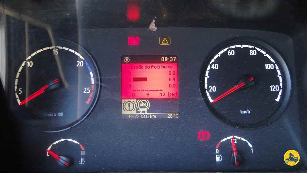 SCANIA SCANIA 420 687000km 2009/2010 Valek Caminhões