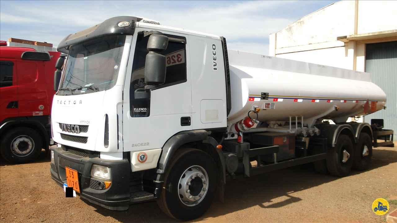 CAMINHAO IVECO TECTOR 240E22 Tanque Aço Truck 6x2 Valek Caminhões MARINGA PARANÁ PR