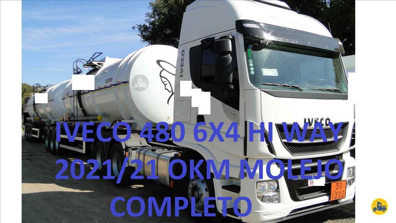 CAMINHAO IVECO STRALIS 480 Cavalo Mecânico Traçado 6x4 Valek Caminhões MARINGA PARANÁ PR