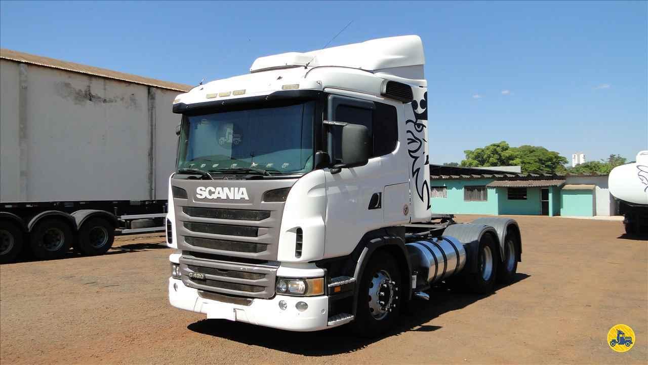 CAMINHAO SCANIA SCANIA 420 Cavalo Mecânico Truck 6x2 Valek Caminhões MARINGA PARANÁ PR
