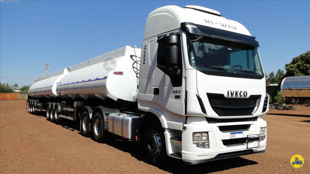 CAMINHAO IVECO STRALIS 560 Cavalo Mecânico Traçado 6x4 Valek Caminhões MARINGA PARANÁ PR