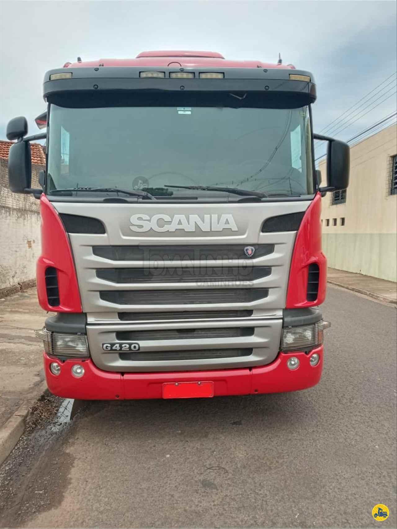 CAMINHAO SCANIA SCANIA 124 420 Cavalo Mecânico Truck 6x2 Tomatinho Caminhões BAURU SÃO PAULO SP